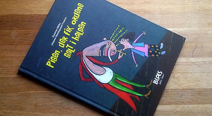 """""""Pigen, der fik ordene galt i halsen"""" af Susanne Ullidtz og Johanne Søndergaard Poulsen"""
