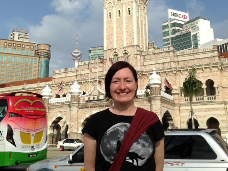 Maria Erica Jensen i Kuala Lumpur